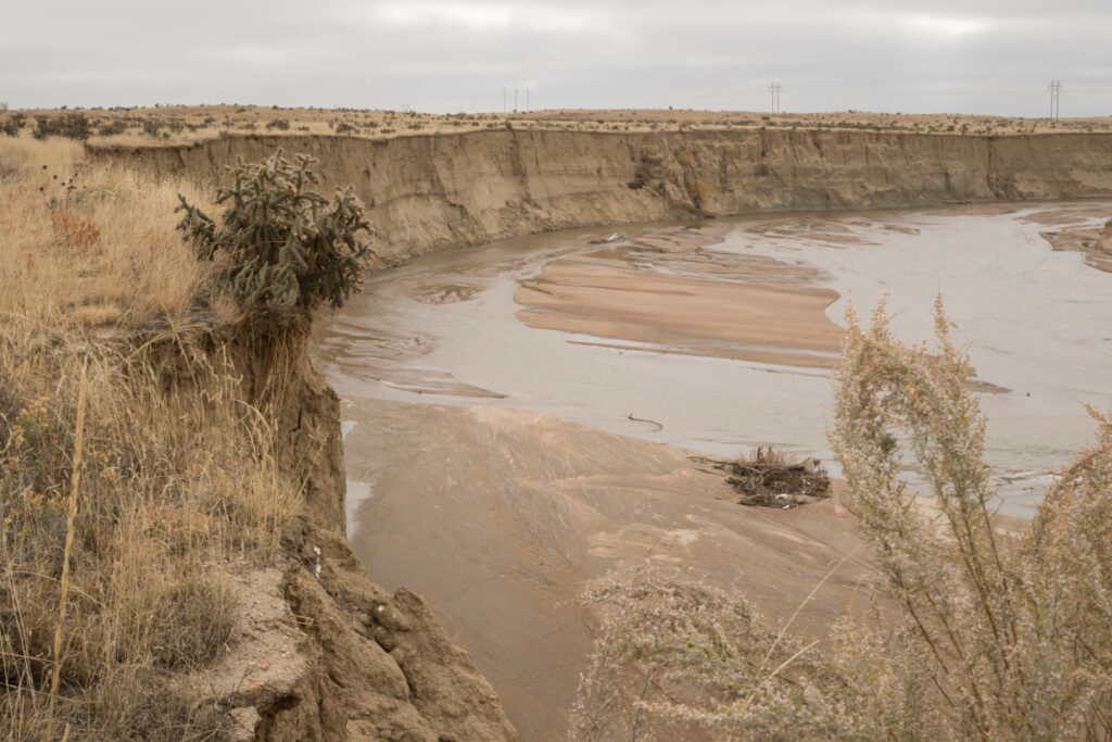 Erosion on Fountain Creek
